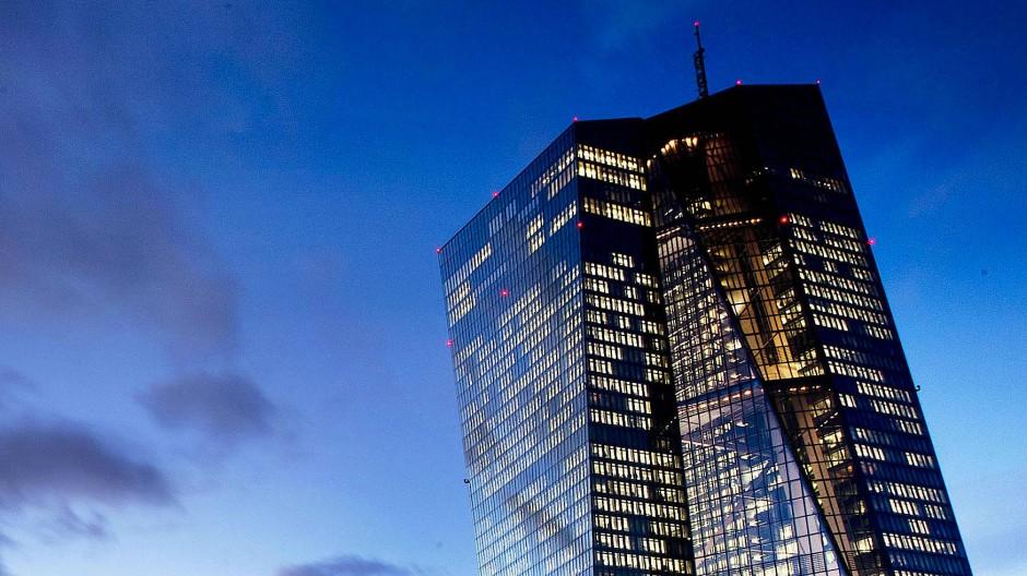 Stemmt sich ebenfalls gegen die Corona-Krise: die Europäische Zentralbank in Frankfurt