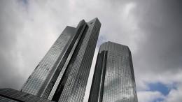 Fusionsfantasien bei Deutscher Bank und Commerzbank sorgen für Kurssprung