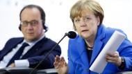 Merkel will einen Preis für das Kohlendioxid