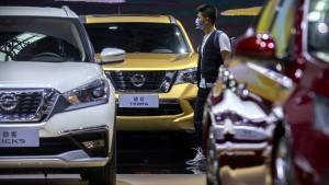 365 Prozent mehr Autoverkäufe in China