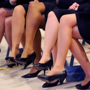 Übererfüllte Quote: Auf diesem Bild sind nur Frauen zu sehen.