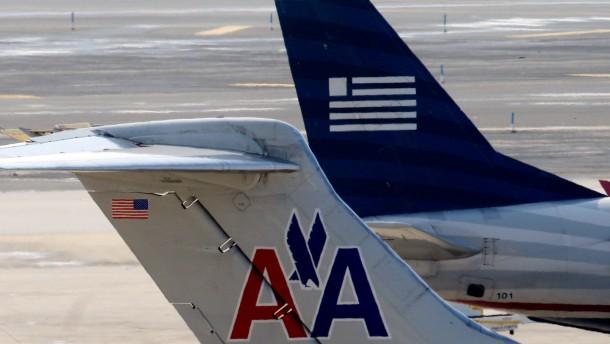 Washington will Fusion von American Airlines und US Airways verhindern