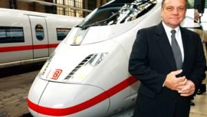 Mehdorn: Bahnreform sparte 108 Milliarden Euro