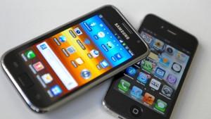Google und Apple dominieren den Handy-Markt