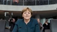 Die letzte Zeugin im Abgas-Untersuchungsausschuss: Bundeskanzlerin Angela Merkel