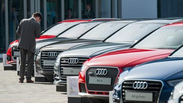 Europäer kaufen immer mehr Autos