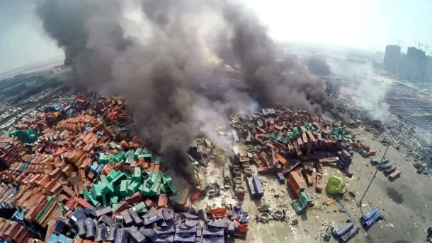 Explosion in China schadet auch deutschen Unternehmen