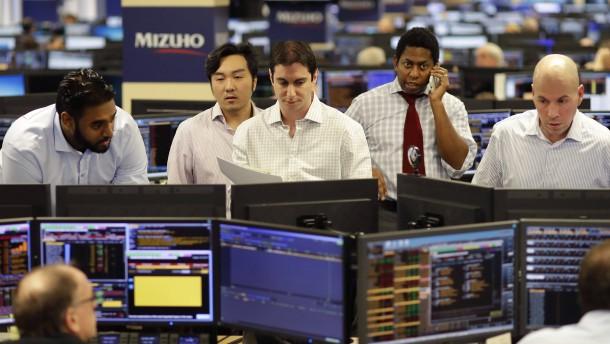 Aktienindex Dow Jones steigt erstmals über 20.000 Punkte