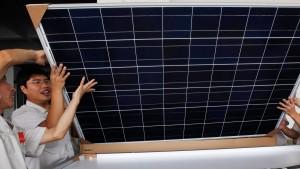 EU verlängert Strafzölle für chinesische Solarpaneele