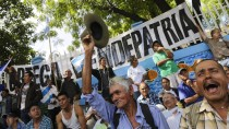 Proteste gegen den Bau in Managua