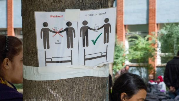 Dubiose Partner bei Berliner Hotel-Geschäft für Flüchtlinge