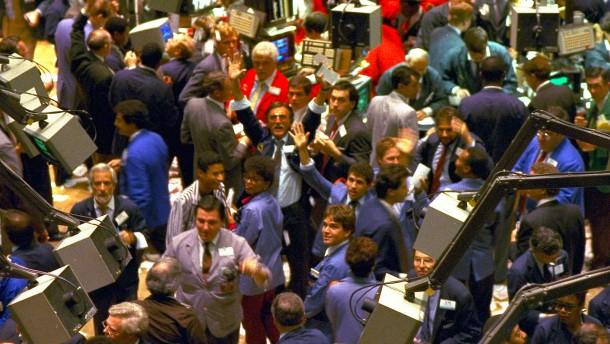 Beben an den Börsen – die größten Börsencrashs