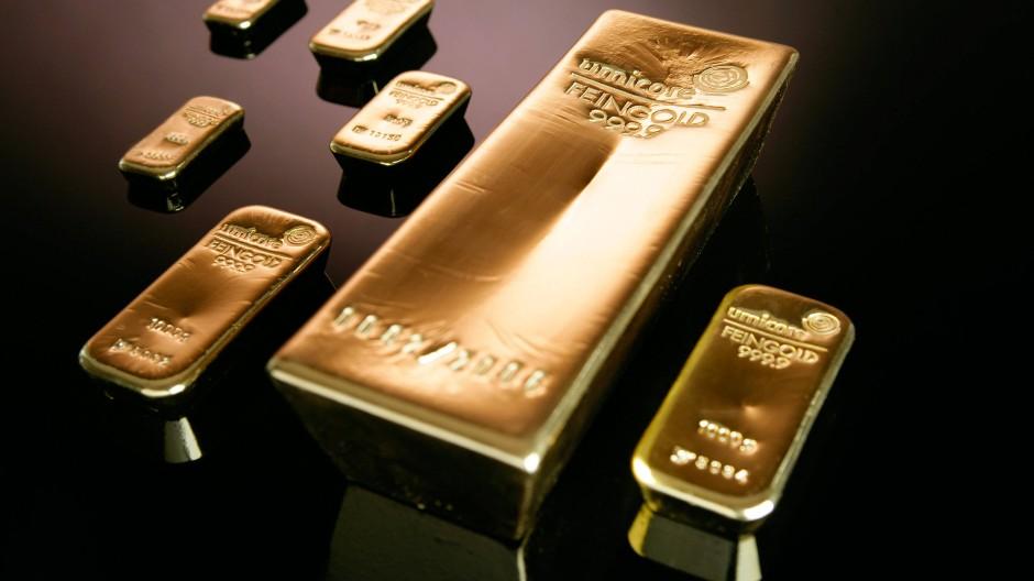 Beliebt und bewährt für viele Gelgenheiten: Goldbarren