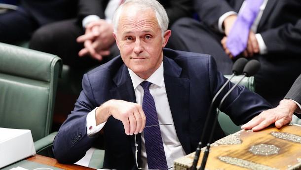 Der Machtmensch an der Spitze Australiens