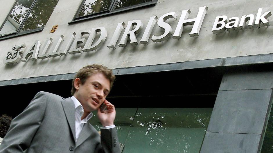 Einst Krisenbank, heute Börsenkandidat: Allied Irish Banks