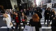 Die teuerste Einkaufsstraße der Welt