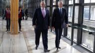 Wirtschaftsminister unter sich: Bruno Le Maire und Peter Altmaier im Juli 2018