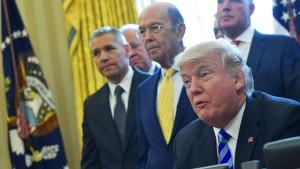 Trump nimmt den Freihandel ins Visier
