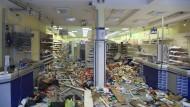 Verwüsteter Drogeriemarkt im Schanzenviertel