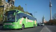 Dreimal so viele Fahrgäste für Fernbusse