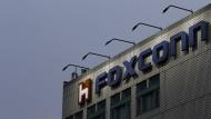 Der Hauptsitz von Foxconn steht in New Taipei City in Taiwan.