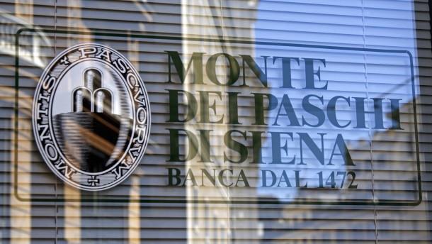 Eine italienische Bank reagiert schon