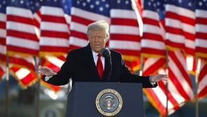 Wie Trump sich weiter Gehör verschaffen könnte