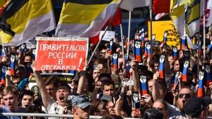 Die jungen Russen wollen weg
