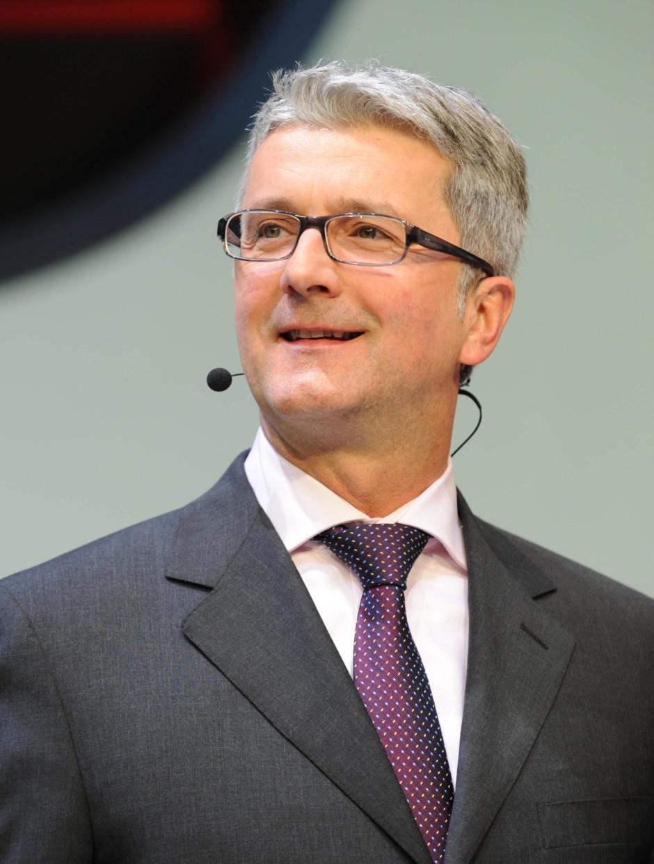 """Audi-Chef Rupert Stadler: """"Die Zeit im Stau wird künftig ... Rupert Stadler"""