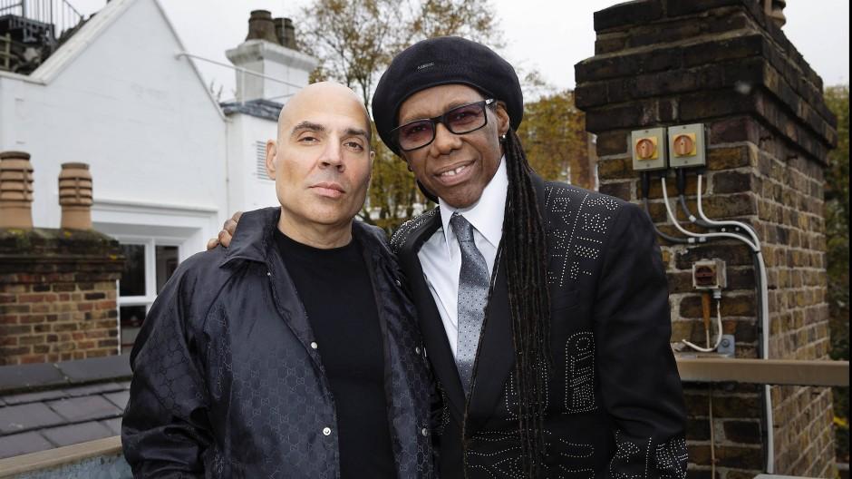 Die Gründer von Hipgnosis: Merck Mercuriadis (links) und Nile Rodgers (rechts)