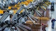 4,8 Millionen Stellen hängen an der deutschen Wirtschaftsstärke
