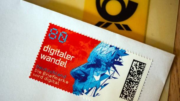 Neue Briefmarken haben künftig einen Matrixcode