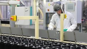 Deutsche Firmen fahren ihre Produktion nach oben