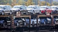 VW ruft den Golf in die Werkstätten