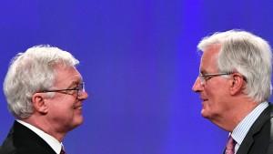 Brexit-Verhandlungen ziehen sich