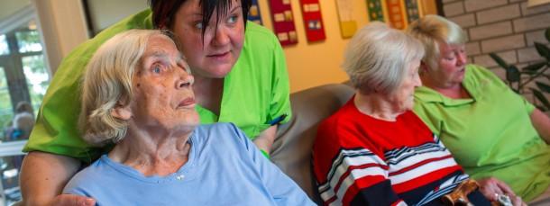 Ein Drittel der Pflegepatienten wird in Heimen betreut