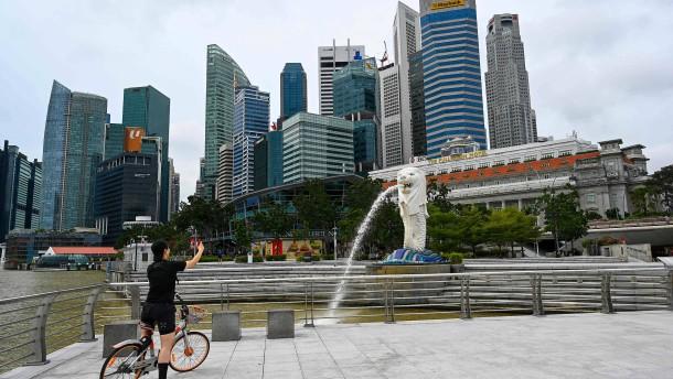 Singapur erholt sich schneller als erwartet