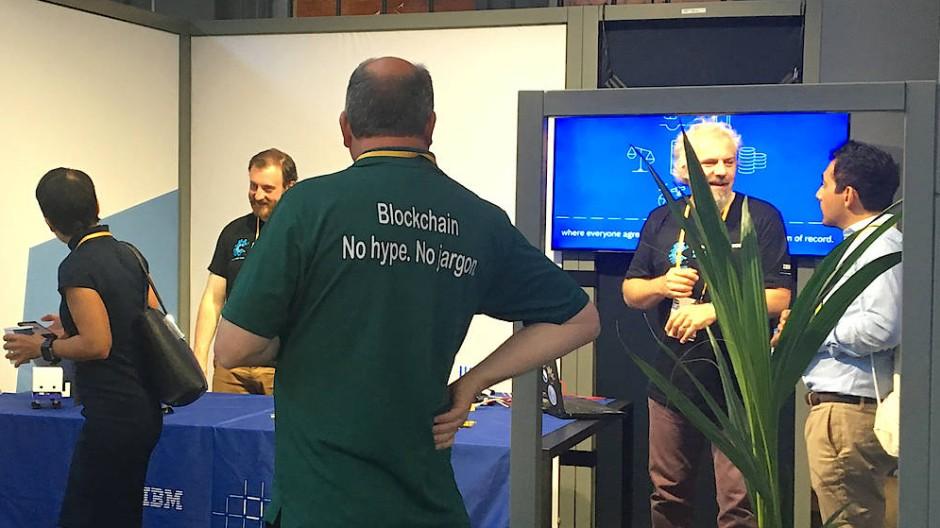 Das Thema Blockchain ist auf der Me Convention in aller Munde.