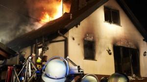 Paar stirbt bei Wohnhausbrand