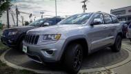 Mehr als 30 Jeeps sollen die beiden Auto-Räuber in Houston erbautet haben in den vergangenen sechs Monaten.
