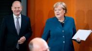 Olaf Scholz facht die Debatte um die Einlagensicherung in Europa an.
