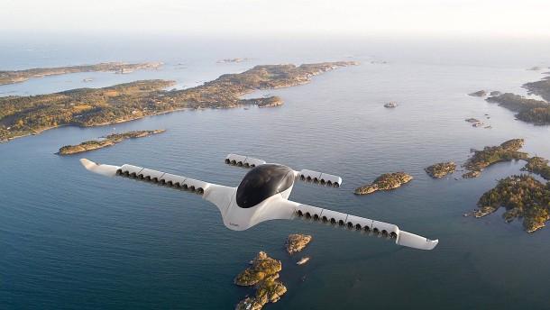 Flugtaxi-Unternehmen mit Milliarden-Bewertung