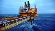 Eine BP-Ölplattform in in der Nordsee