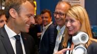 Emmanuel Macron auf der VivaTech-Konferenz in Paris.
