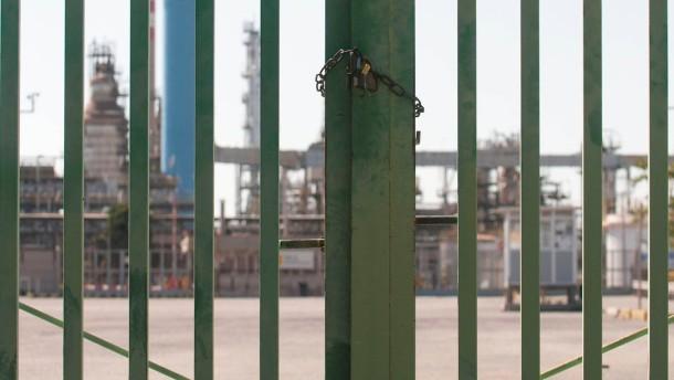 Italy Plant Shutdown