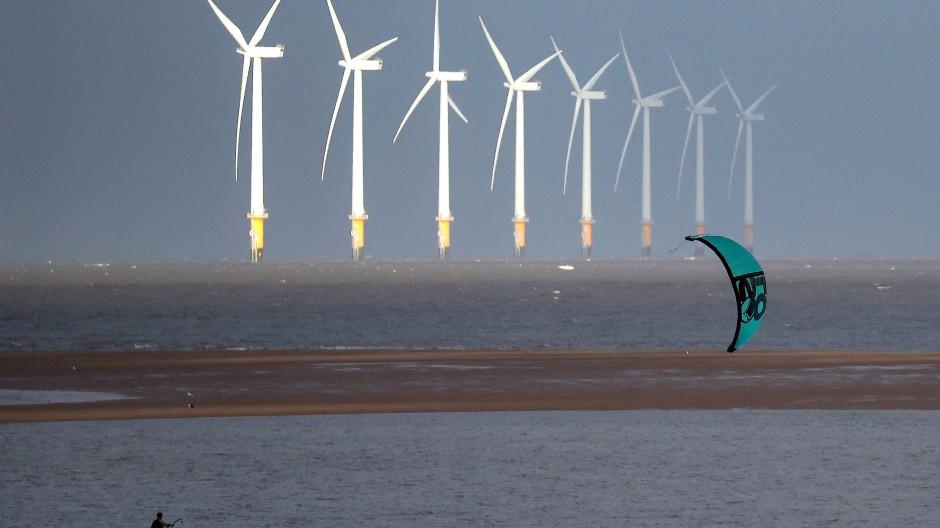 Windpark vor der britischen Küste