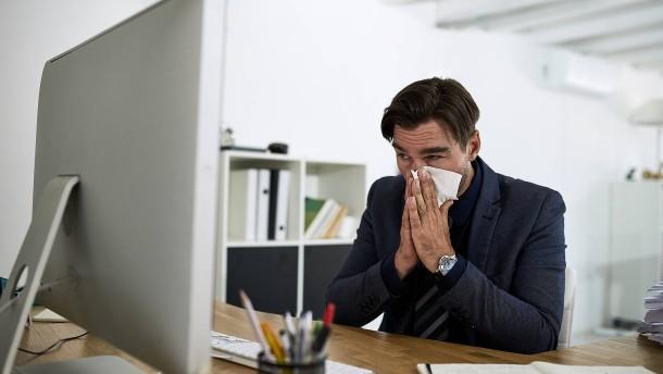 Virenalarm im Büro