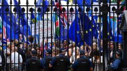 Nervosität vor der großen Brexit-Schlacht