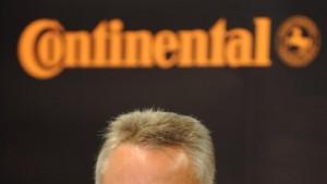 Banken kritisieren Conti-Aufsichtsratschef Koerfer