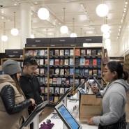 Im Amazon-Geschäft in New York